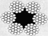 Трос (Канат) стальной ГОСТ 2688-80 в смазке