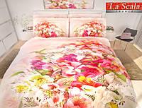 Комплект постельного белья La scala сатин UHD 3d FP-003