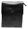 Мужская сумка черного цвета из искуcственной кожи Langsa CМ-40