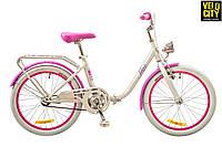 "Dorozhnik Star 20"" (2017) складной велосипед для девочки"