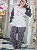 Качественные турецкие пижамы великаны для женщин