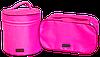 Круглый органайзер для косметики ORGANIZE (розовый), фото 5