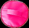Вместительная круглая косметичка ORGANIZE (розовый), фото 4