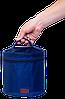Круглый органайзер для косметики ORGANIZE (синий), фото 4