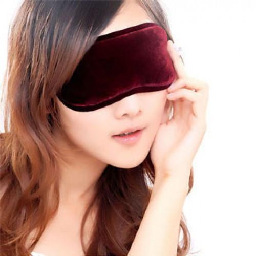 Турмалиновая накладка на глаза с магнитами снимет усталость и улучшит зрение!