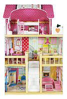 Деревянный домик для кукол Tobi Toys