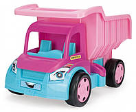"""Детская игрушечная машина Большой грузовик Wader серия """"Гигант"""" для девочек (65005)"""