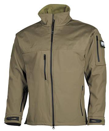 Куртка Soft Shell MFH Australia Coyote tan 03428R, фото 2