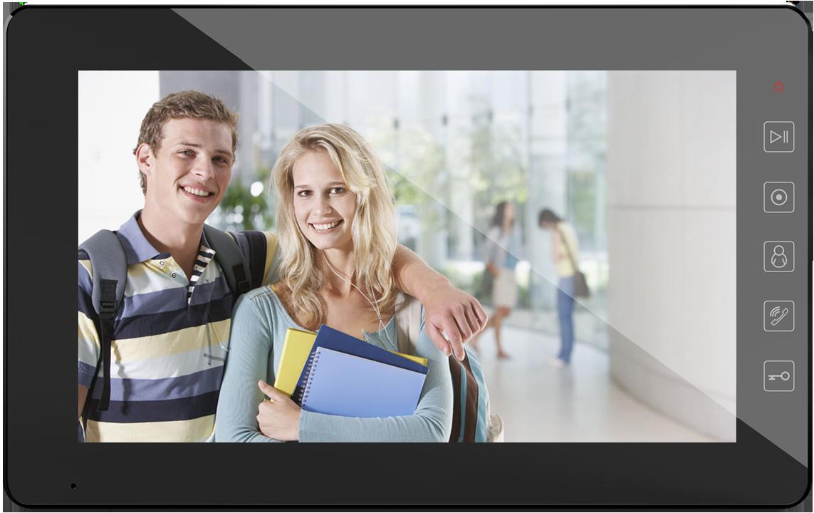 Відеодомофон Qualvision QV-IDS4A08 BLACK