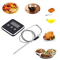 Термометр кухонний із зондом і таймером, для барбекю, приготування страв, чайника, тощо...