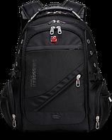 Фирменный швейцарский рюкзак Wenger SwissGear. Модель 1418. Качественный городской рюкзак.