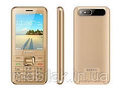 Мобильный телефон SERVO на 4 Сим