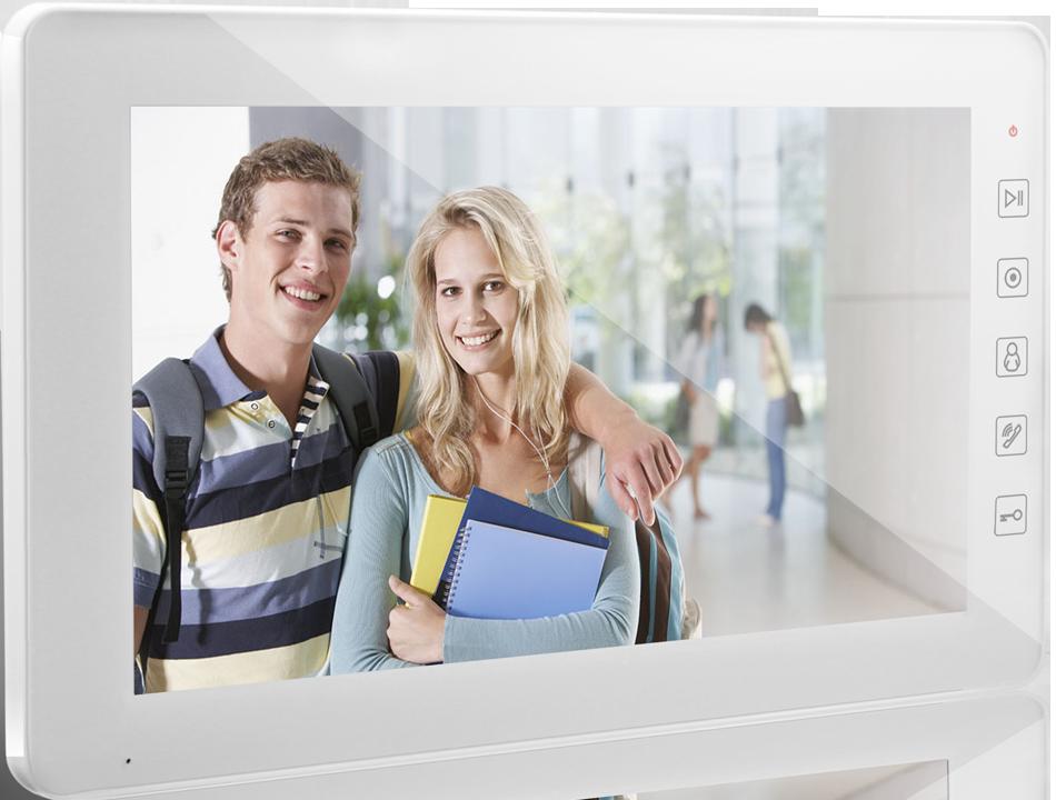 Відеодомофон Qualvision QV-IDS4A08 WHITE