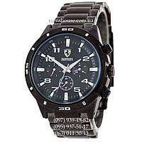 Бюджетные часы Ferrari Mechanic Black-White