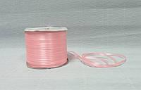 Лента атласная, Светло-розовая, 0,3см