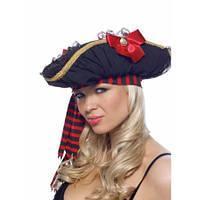 Чёрная шляпка