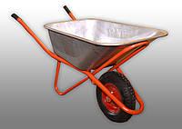 Тачка садово-строительная одноколёсная 100-150 уселенная для сада