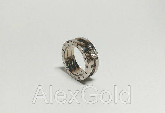 fc4688f139f Золотое кольцо Bulgari женское трансормер  продажа