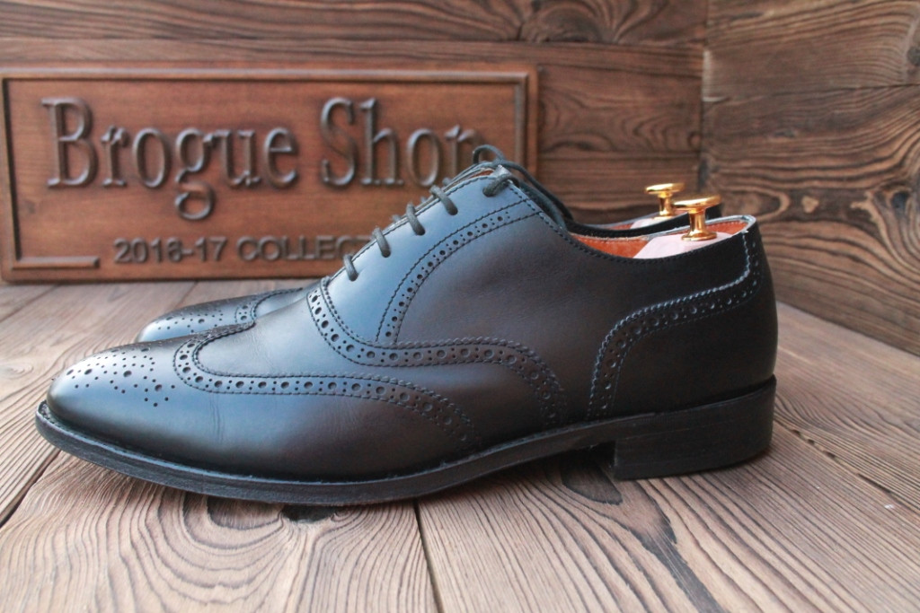 1164f5c3 Английские туфли мужские Swang, hand made, 29.5 см, 44.5 размер. Код: