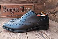 Английские  туфли мужские Swang, hand made,  29.5 см, 44.5 размер. Код: 001.