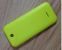 Задняя панель корпуса для мобильного телефона Nokia 225 Yellow