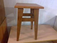 Табурет 30*30 деревянный с крышкой МДФ, фото 1