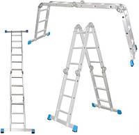 Шарнирная лестница-стремянка  (трансформеры) 4*3 4*4