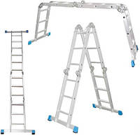 Лестница  шарнирная Шарнирная лестница-стремянка 4*3 4*4