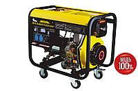 Генераторы и электростанции электрогенератор для дома стройки склада ЛДГ-505ЭК