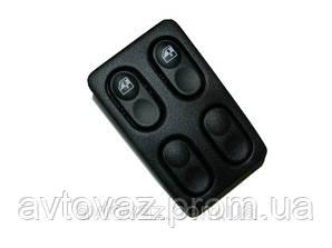 Блок кнопок склопідіймача ВАЗ 2110, ВАЗ 2111, ВАЗ 2112 2 кнопки АВАР