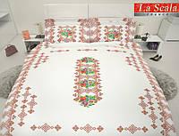 Комплект постельного белья La scala сатин UHD 3d P-048