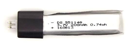 Аккумулятор для радио вертолета 3.7v 200 mah