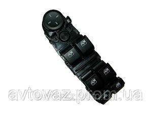 Блок кнопок управління склопідйомниками c джостиком 4 кнопки ВАЗ 2170, ВАЗ 2171, ВАЗ 2172 Пріора