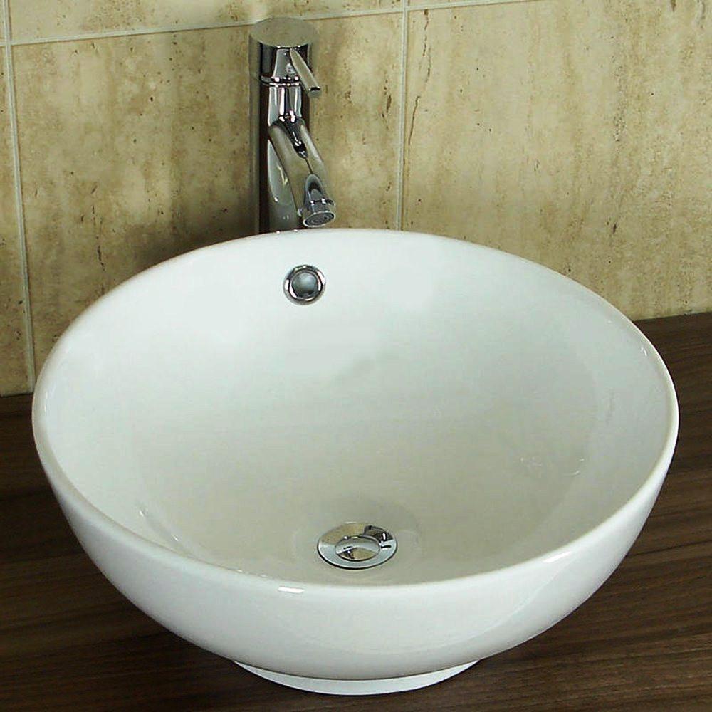 Раковина чаша на столешницу в ванную Rocio A8017 - Interior Glass в Одессе