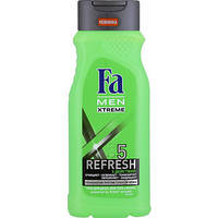 Гель для душа Fa Men Refresh 5, 250мл