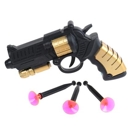 Игрушечное оружие. Детский пистолет 3368, стреляет присосками, безопасные игры, игрушечный пистолет, фото 2