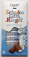Немецкий молочный шоколад Chateau Schoko Milch Riegel / Детский шоколад с молочной начинкой 200г., фото 1