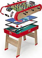 Футбольный стол Power Play 4 в 1 Smoby Toys 640001