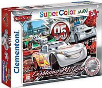 Пазл Clementoni Maxi Тачки Silver 24 элемента (24442)