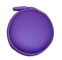 Футляр (чехол) для наушников, фиолетовый