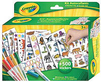 Набор для творчества Crayola Наклейки с фломастерами (5450)