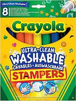 Набор Crayola легко смываемых фломастеров-штампов (58-8129)