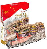 Трехмерная головоломка-конструктор CubicFun Висячий монастырь Сюанькун-сы (MC204h)