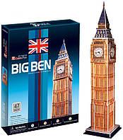 3D пазл CubicFun Великобритания. Биг бен 47 деталей (C094h)