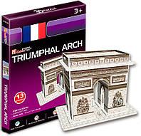 3D пазл CubicFun Mini Триумфальная арка 13 деталей (S3014h)