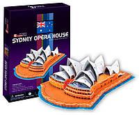 3D пазл CubicFun Австралия. Сиднейский Оперный Театр 41 деталь (C067h)