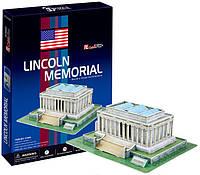 3D пазл CubicFun Мемориал Линкольна 41 деталь (C104h)
