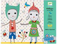 Набор для творчества Djeco Коллаж для самых маленьких. Малыши (DJ08665)