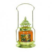 """Подставка """"Фонарь"""" цвета латуни. Декор для свечей Village Candle"""