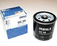 Масляный фильтр на Opel Vectra A (пр-во Mahle-Knecht)